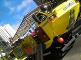 ダック(水陸両用バスです。