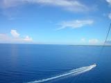 きれいな海と水平線