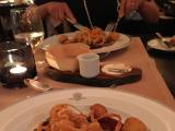 ブリストルホテルでのディナーでした