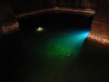 海水の10倍塩分濃度が高い池