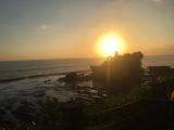 最高の夕日でした。写真撮影能力の低さが悔やまれます。