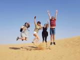 砂漠ジャンプ