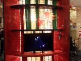 劇場裡不能拍照~但劇場外的布置也很有味道:p
