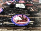 BBQランチ