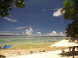 素敵な静かなビーチ