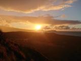 ダイヤモンドヘッドの山頂からの日の出が良かったです‼️