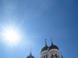 丘の上には教会などがありました。