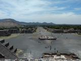 風が心地よく、メキシコの広大さを再認識。