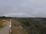 キラウエアの虹