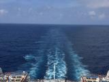 搭乘遊輪來到了沖繩