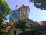 時計台はもっと大きいと思ってた。