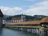 カペル橋が可愛らしくて