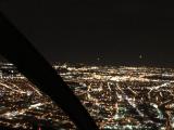 ヘリコプターからの摩天楼