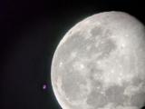 moon through the telescope