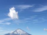 风和日丽的富士山