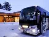 直接在飯店門口上行李,輕鬆抵達札幌市區。