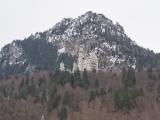 雪化粧のノイシュバンシュタイン城