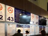 パス売り場。どの券種(1日や3日券など)はガイドさんから案内あります。