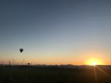 朝日が出る時間帯なので日の出も見れて綺麗でした!