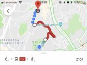 スペインでは、Google様様です。wifiが切れても 地図は見れます。