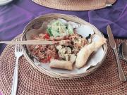 キンタマーニ高原での昼食