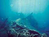 日本が沈めたアメリカ貨物船が再度アグン山の噴火で現状に。