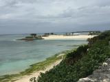 エメラルドビーチ、水族館から徒歩すぐで、ロッカー、シャワーもありました。