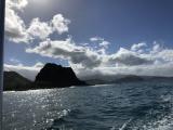 ボートから見た景色。