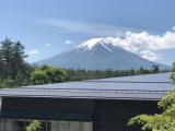 大方露臉的富士山