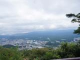 害羞的富士山